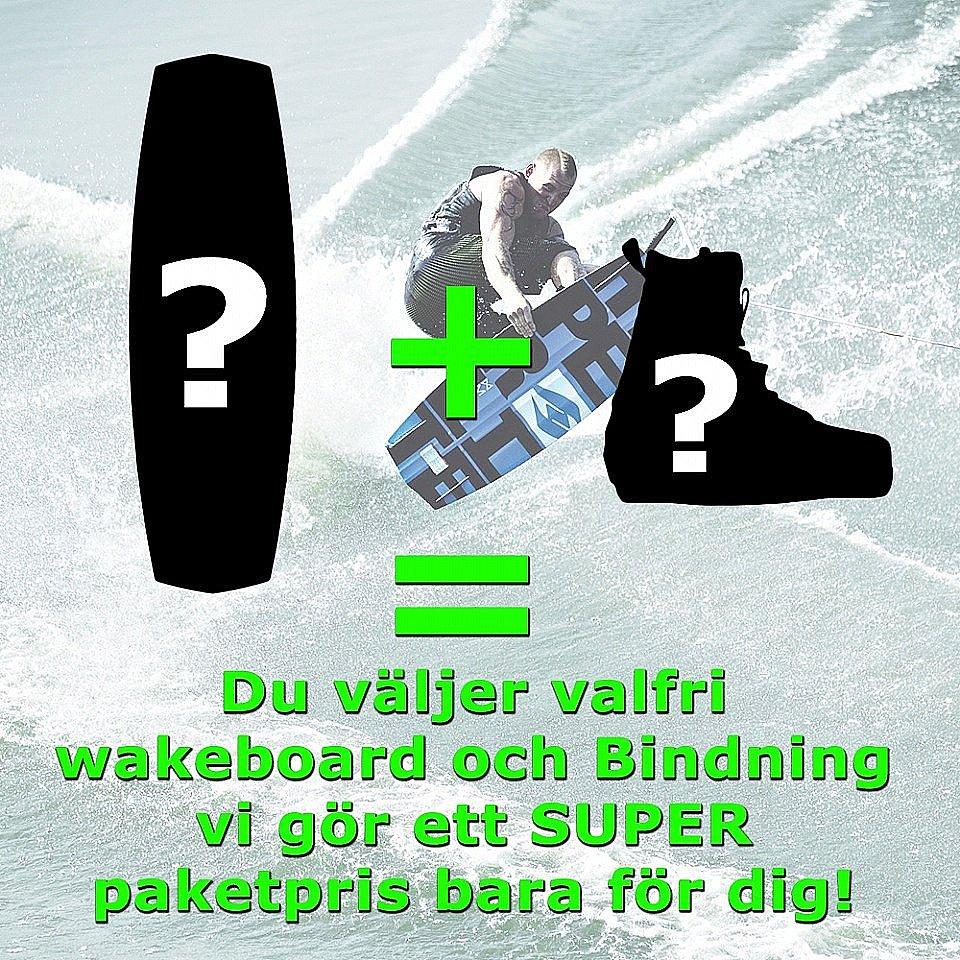 FROGGY VATTENSPORT Ditt eget wakeboardpaket Välj en wakeboard och en  bindbning ... 258aae52be9ca